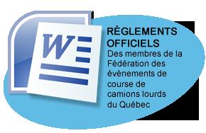 règlements officiels